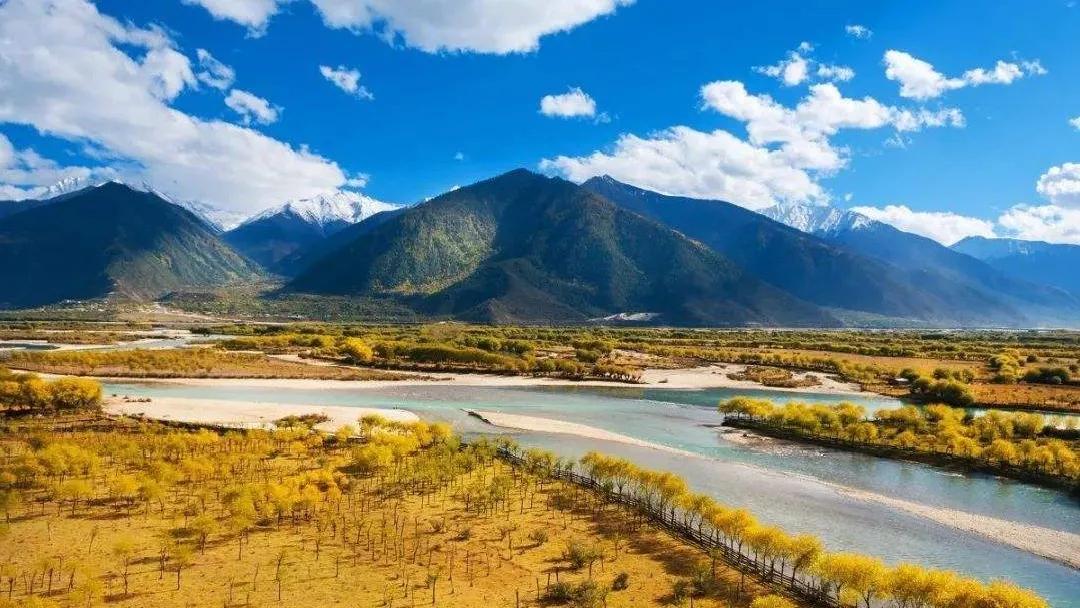 赏山景秋色,林芝私藏的美景,真的太惊艳了!