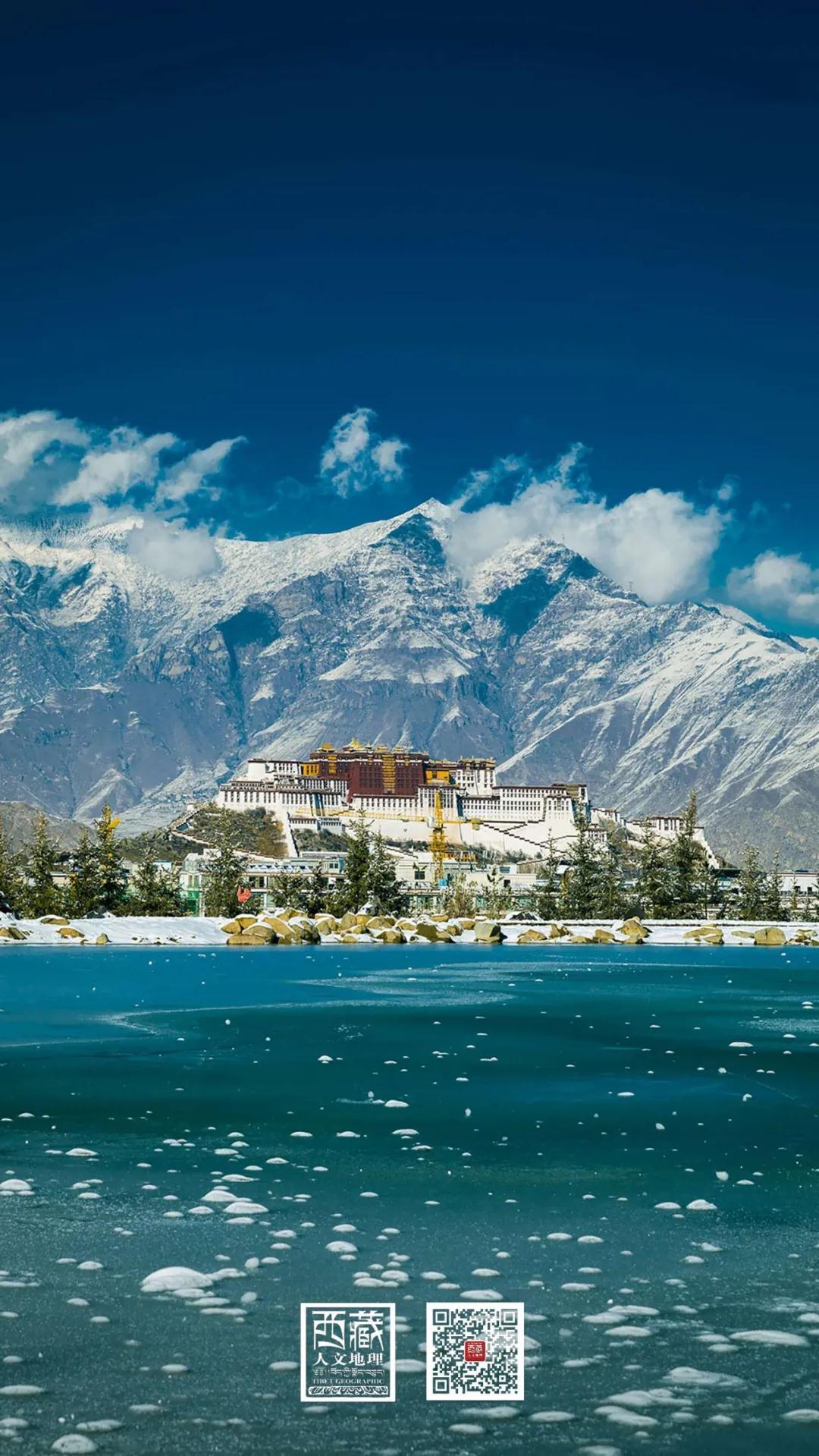 壁纸 | 冬游西藏,在冰雪世界里遇见美