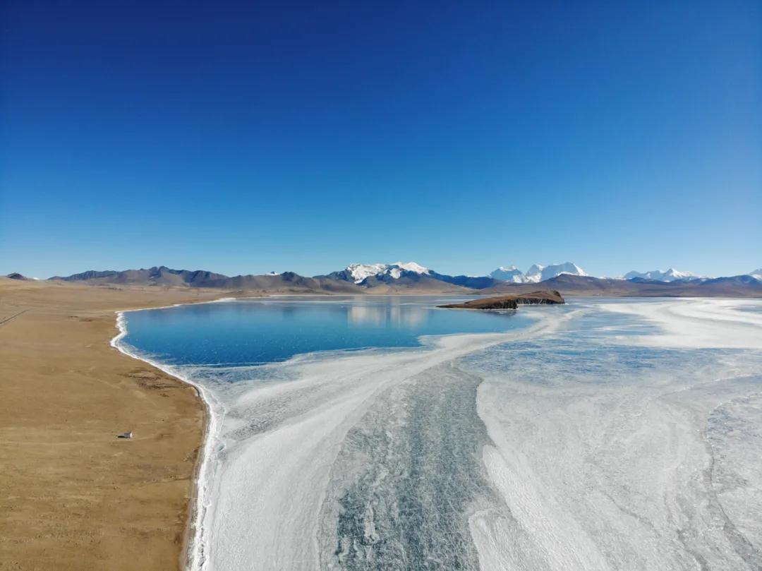 山南的蓝冰,凝结了整个西藏的冬!